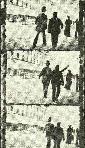 Film frames from FG Memorial in Chemist Druggist Oct 29 1955