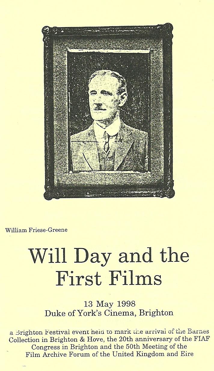 Will Day Film Screeening #1