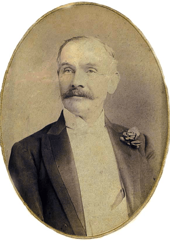 Portrait of Birt Acres from Frontiersman