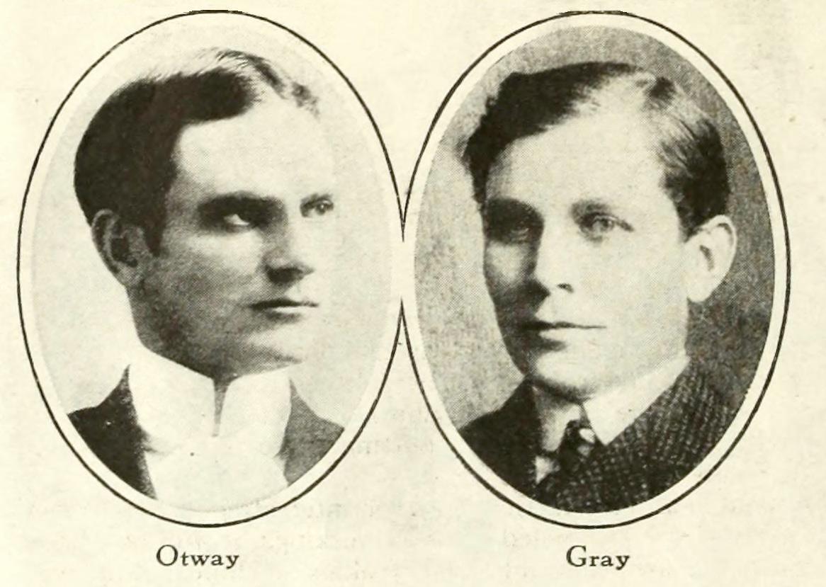 Otway and Gray Latham portrait